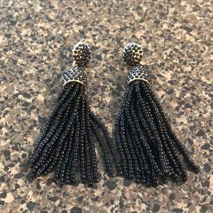 Jewelry - Black/ gold earrings .